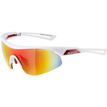 Alpina NYLOS SHIELD, biciklističke naočare, bijela