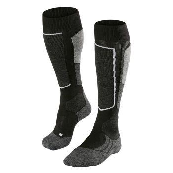 Falke SK2, čarape za skijanje, crna