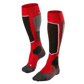 Falke SK2, čarape za skijanje, crvena