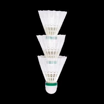 Terinda 1700, loptica za badminton najlon, bijela
