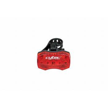 Cytec LED REAR 5 LED + REFLECTOR, svijetlo za bicikl, crvena