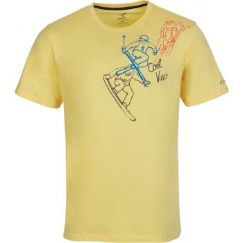 Energetics CHARLES 1, muška majica, žuta