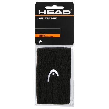 Head WRISTBAND 5, znojnica za zglob, crna