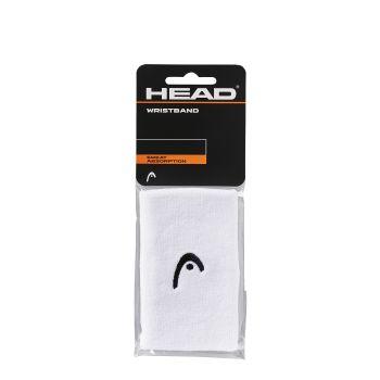 Head WRISTBAND 5, znojnica za zglob, bijela