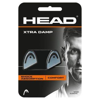 Head XTRA DAMP, grip za tenis, crna