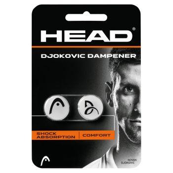 Head DJOKOVIC DAMPENER 2, grip za tenis, bijela