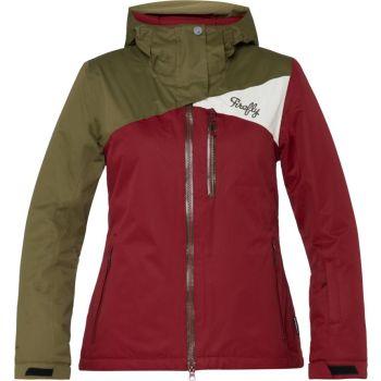 Firefly DELILAH WMS, ženska jakna za snowboard, crvena