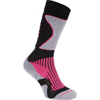 McKinley NEW NILS UX, čarape za skijanje, crna
