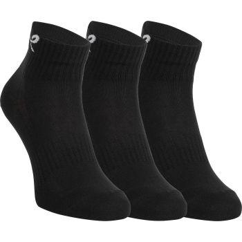 Energetics NEW LJUBLJANA II 3-PACK UX, čarape za trčanje, crna