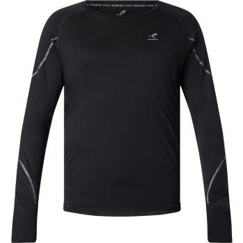 Energetics ZOLO UX, muška majica dugi rukav za trčanje, crna