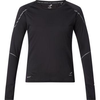 Energetics ZOLA WMS, ženska majica dugi rukav za trčanje, crna