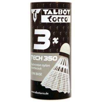 Talbot Torro TECH 350 NY MED 3/1, lopta za badminton, bijela