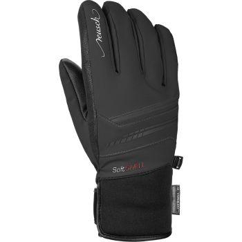 Reusch TOMKE STORMBLOXX, ženske rukavice za skijanje, crna
