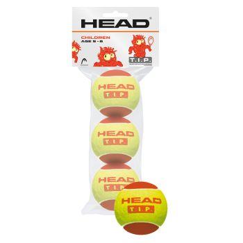 Head 3B HEAD TIP, lopta za tenis, crvena