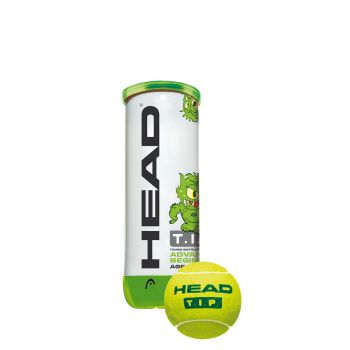 Head 3B HEAD TIP, lopta za tenis, zelena