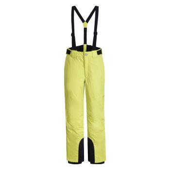 Icepeak LENZEN JR, dječije pantalone za skijanje, žuta