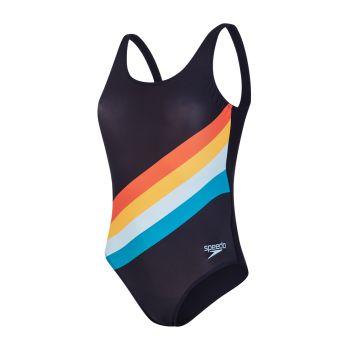 Speedo PLMT U-BK 1PC AF, ženski kupaći, šarena