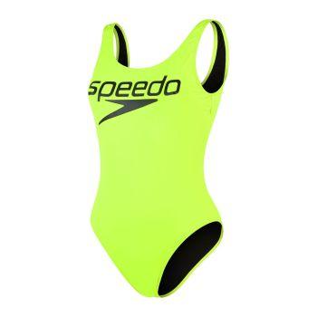 Speedo DEEP U-BK HI LEG 1PC PT AF, ženski kupaći, crna