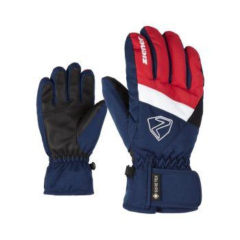 Ziener LEIF GTX JUNIOR, dječije rukavice za skijanje, plava