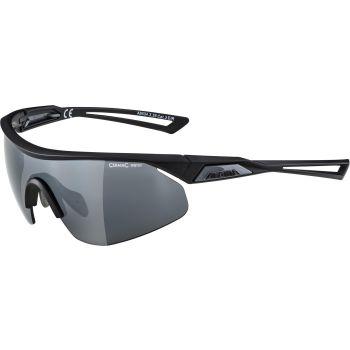 Alpina NYLOS SHIELD, biciklističke naočare, crna