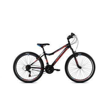 Capriolo DIAVOLO DX 24, dječiji mtb bicikl, crna