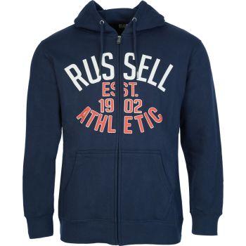 Russell Athletic EST 1902 - ZIP THROUGH HOODY, muški duks, plava