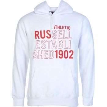 Russell Athletic RUS-PULL OVER HOODY, muški duks, bijela