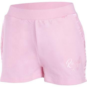 Russell Athletic SL SATIN LOGO SHORTS, ženski šorc, roza