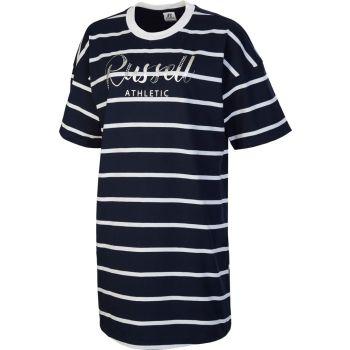 Russell Athletic SL TEESHIRT STRIPED DRESS, ženska haljina, plava