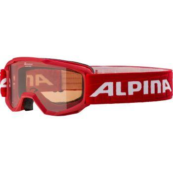 Alpina PINEY, dječije skijaške naočare, crvena