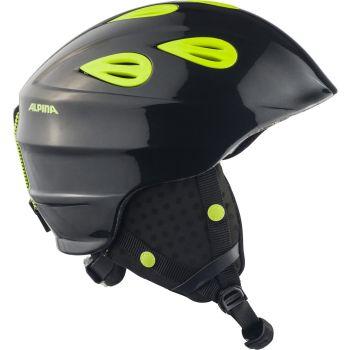 Alpina GRAP 2.0 JUNIOR, dječija skijaška kaciga, crna