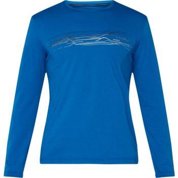 McKinley ACHO UX, muška majica dugi rukav za planinarenje, plava