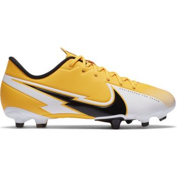 Nike JR VAPOR 13 ACADEMY FG/MG, dječije kopačke za fudbal (fg), žuta