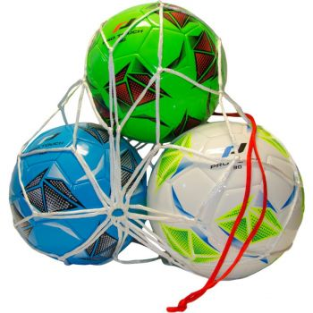 Pro Touch BALL NET 3 BALLS, dodatak za fudbal, bijela