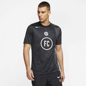 Nike M NK FC AWAY JSY SS, muška majica za fudbal, crna