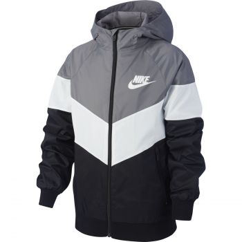 Nike SPORTSWEAR WINDRUNNER JACKET, dječija jakna za fitnes, siva