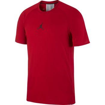Nike JORDAN AIR SHORT-SLEEVE TRAINING TOP, muška majica, crvena