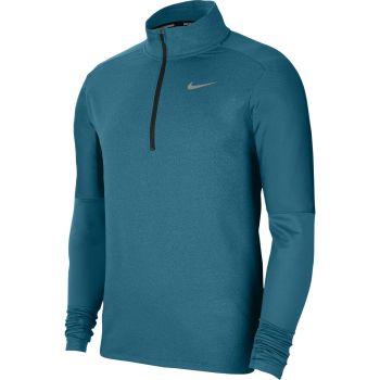 Nike DRI-FIT 1/2-ZIP RUNNING TOP, muški duks za trčanje, zelena