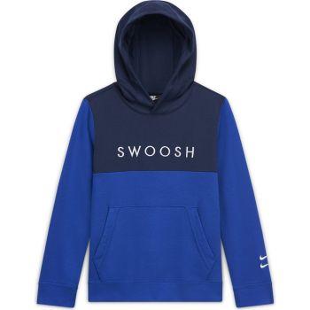 Nike B NSW SWOOSH OTH FT, dječiji duks, plava
