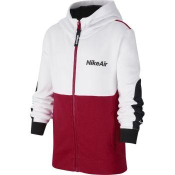 Nike B NSW AIR FZ HOODIE, dječiji duks, crvena