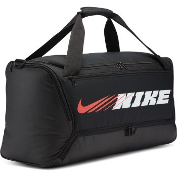 Nike BRSLA DUFF 9.0 PX GFX, torba, crna