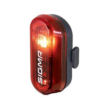 Sigma CURVE REAR LIGHT, zadnje svijetlo za bicikl, crna