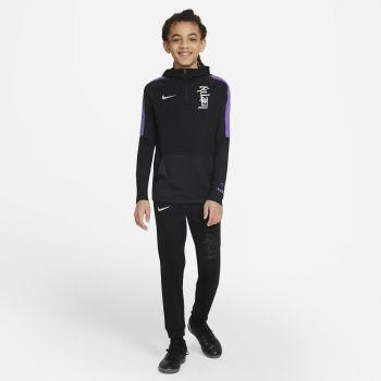 Nike DRI-FIT KYLIAN MBAPPE, dječiji duks za fudbal, crna