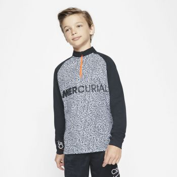 Nike CR7 B NK DRY ACDMY DRIL TOP, dječija majica dugi rukav, crna