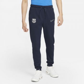Nike FC BARCELONA DRI-FIT FLEECE SOCCER PANTS, muške pantalone, plava
