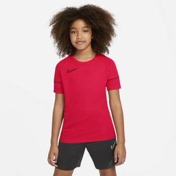 Nike DRI-FIT ACADEMY SHORT-SLEEVE SOCCER TOP, dječija majica, crvena