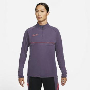Nike DRI-FIT ACADEMY SOCCER DRILL TOP, muška majica dugi rukav, ljubičasta