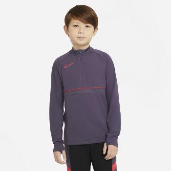 Nike Y NK DRY ACD21 DRIL TOP, dječija majica dugi rukav, ljubičasta