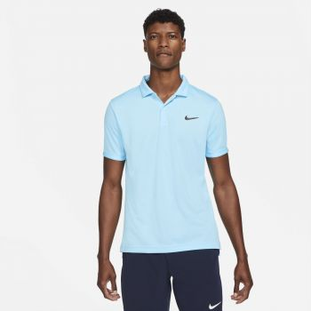 Nike NIKECOURT DRI-FIT VICTORY TENNIS POLO, muška polo majica za tenis, plava