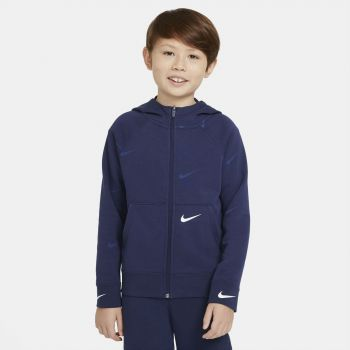 Nike SPORTSWEAR SWOOSH FULL-ZIP HOODIE, dječiji duks, plava